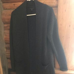 Tahari long cardigan